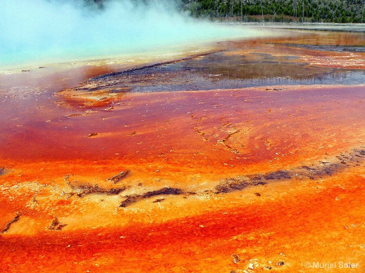 Colors of Yellowstone. Number 1.