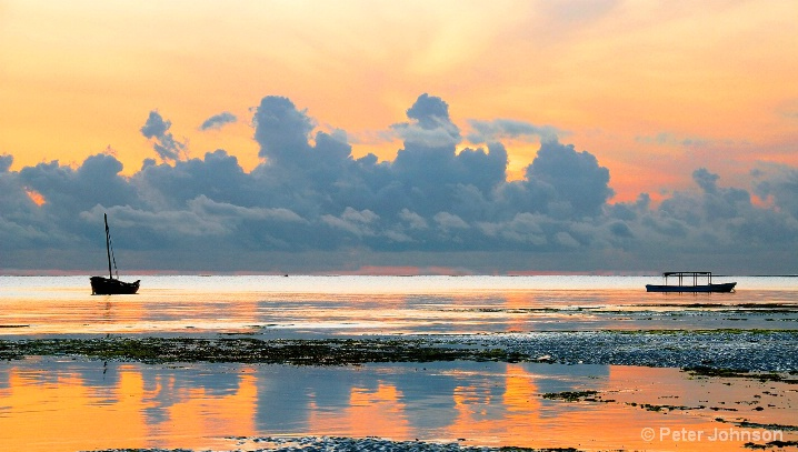 Indian Ocean Sunrise - Tanzania