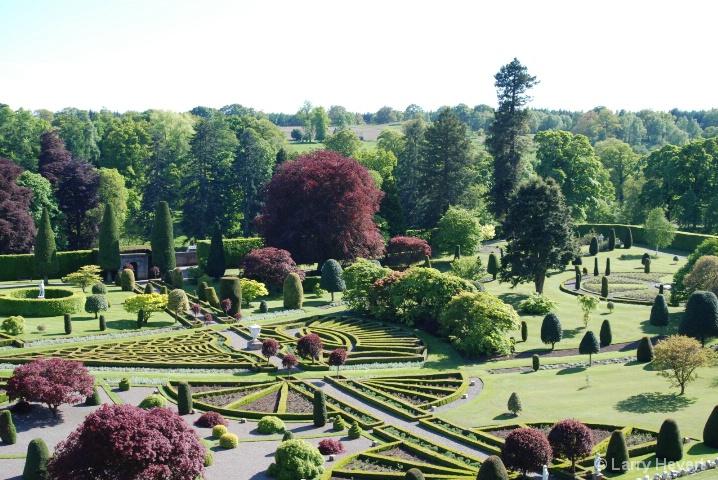 Scotland- Drummond Gardens
