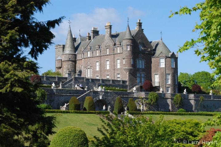 Scotland- Drummond Castle