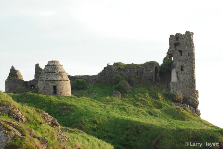 Scotland- Castle ruins in Danure