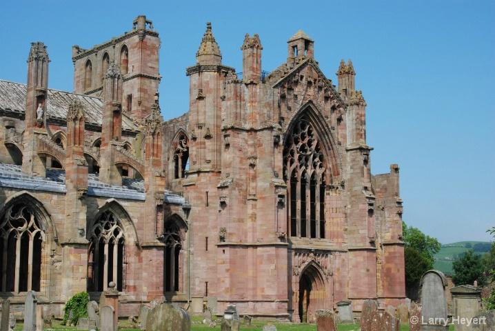 Scotland- Melrose Castle