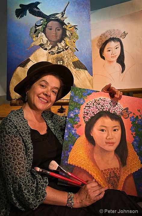 Lea the Painter