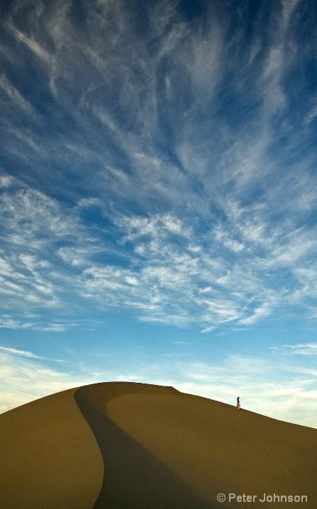 Dame Descending Dune