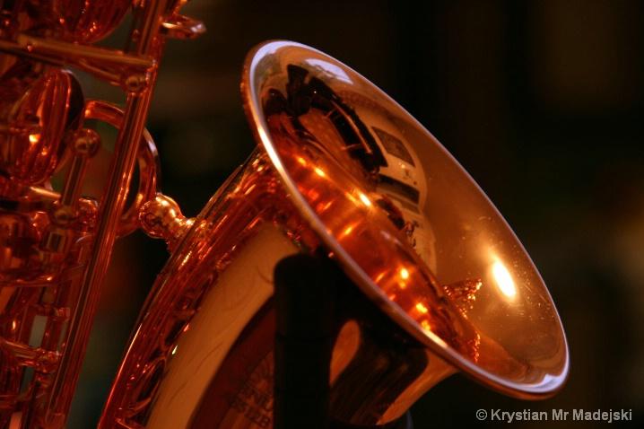 Copper tube of saxophone
