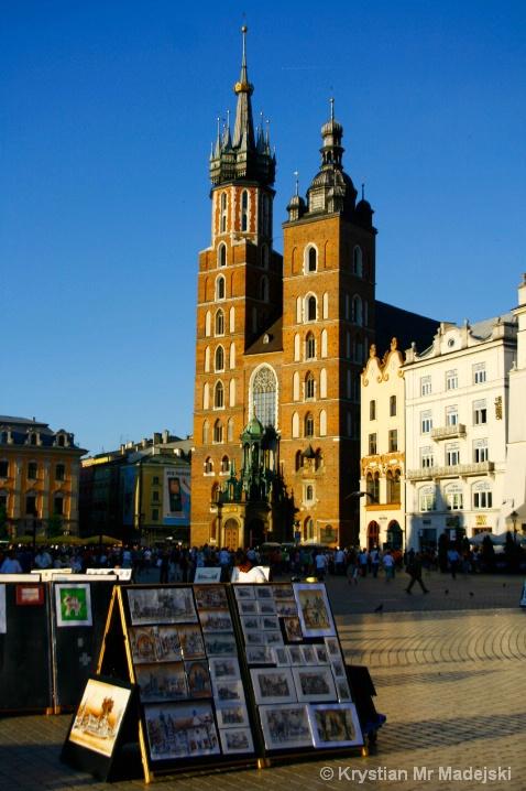 Kraków in Poland - Maria's church