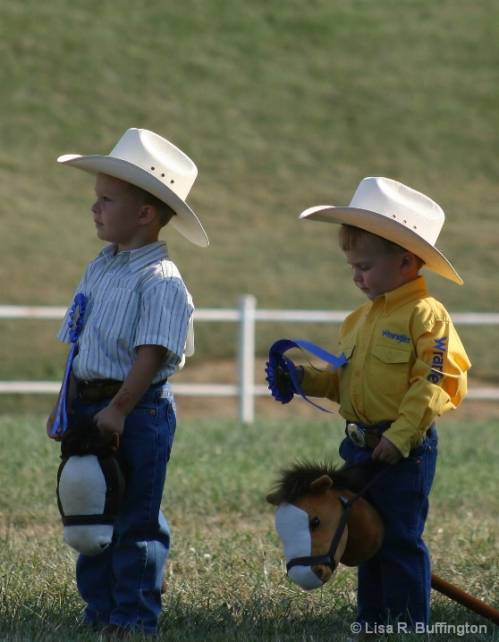Little Cowboys in Training