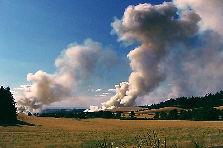 Oregon Field Burning