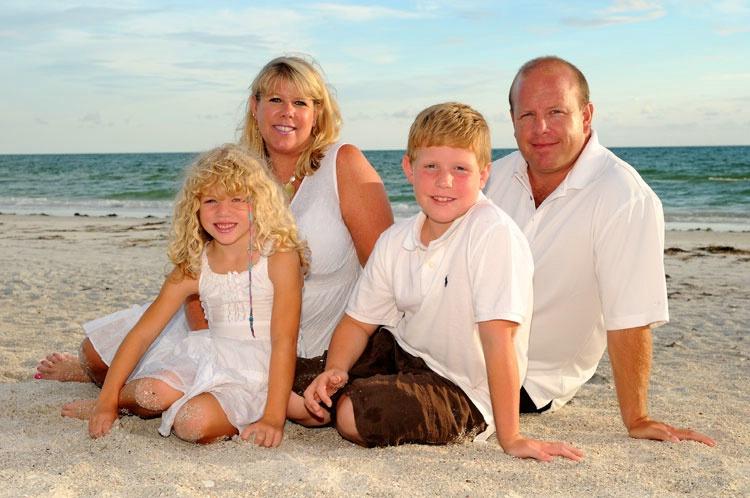family portrait 6 st. pete beach