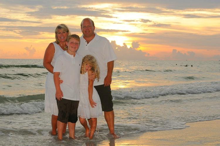 family portrait 5 st. pete beach