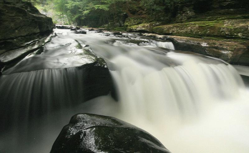 Callicoon Creek Falls 2