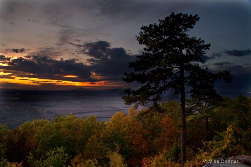 Sunset from Petit Jean Mountain