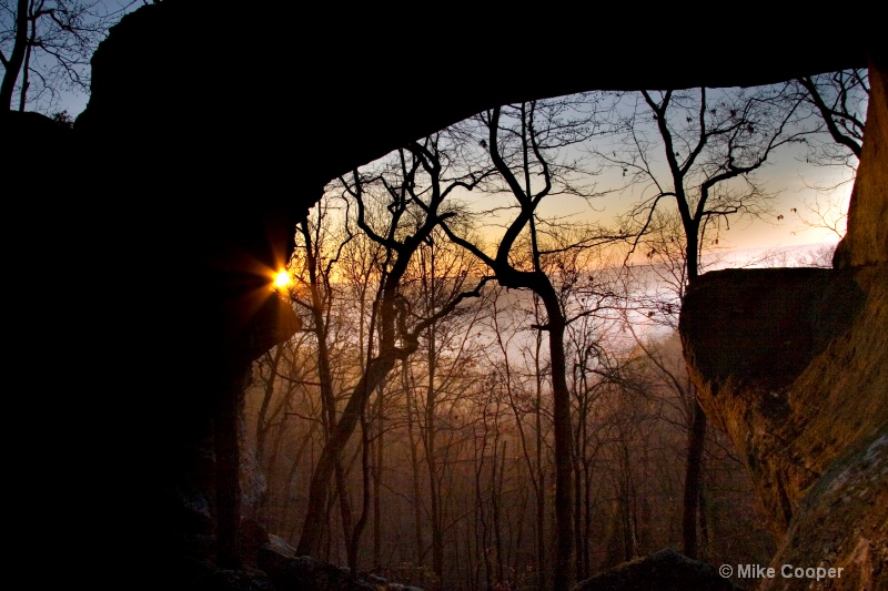 Winter Soltice Sunrise at Buzzards Roost