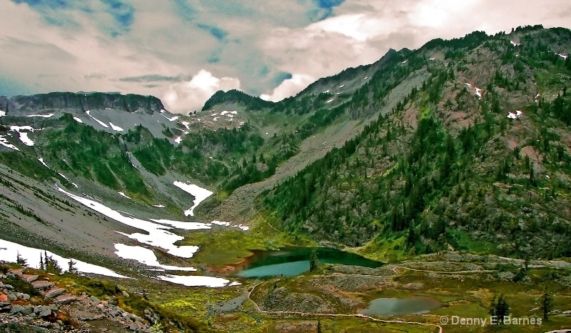 Chain Lake, Mt Baker-Washington