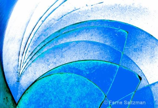 Blue Absract