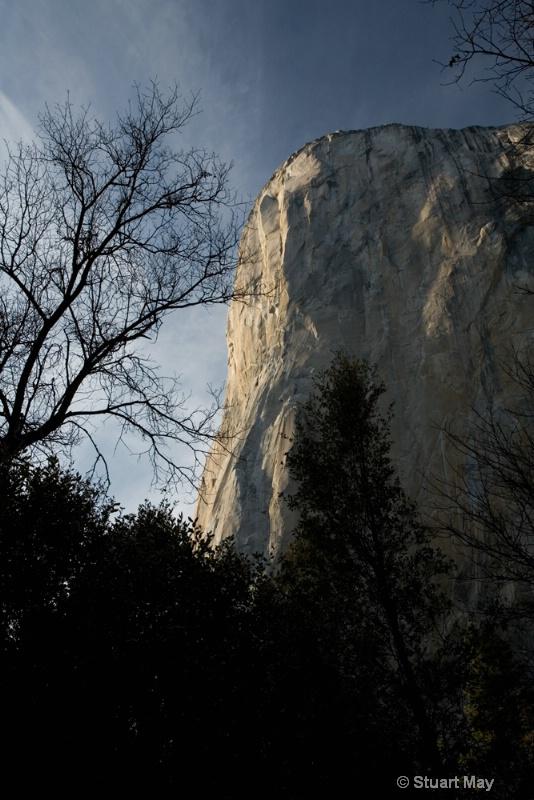 el - cap and trees oblique