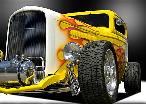 hot rod-studio shot