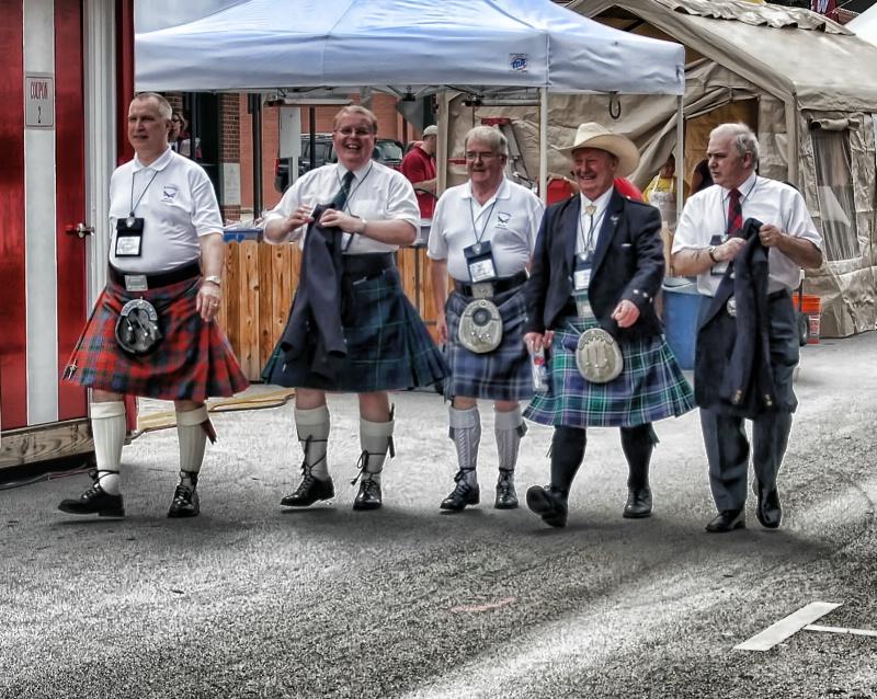 Scottish Texans