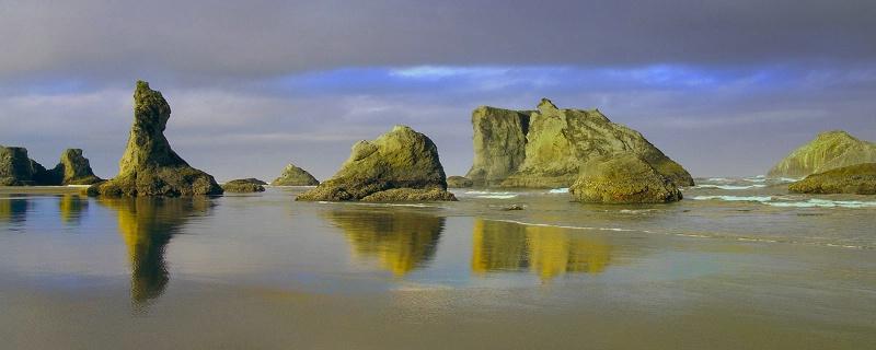 Low Tide Canvas