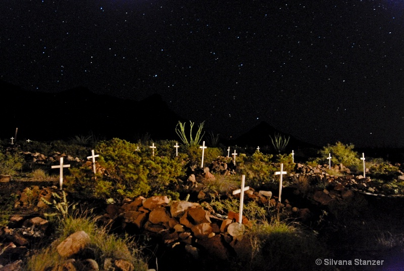 Shafter Ghost-town Cemetery
