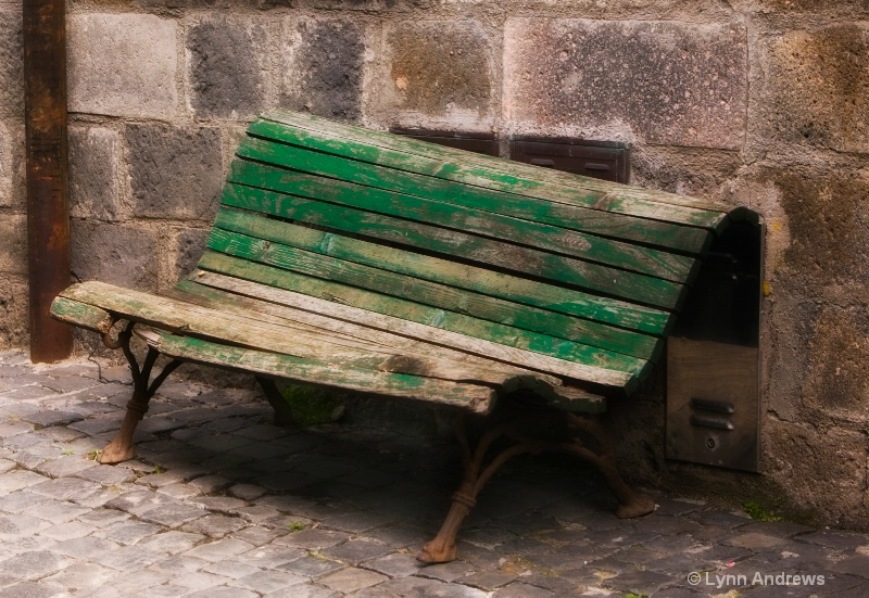 A Bench For Karen in Rome