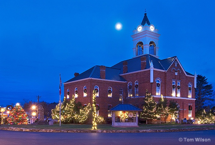 Union County Couthouse Christmas