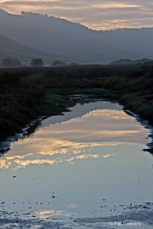 Sunrise Reflection @ Pt. Reyes
