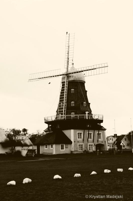Windmill Sandvik Oland Sweden S BF