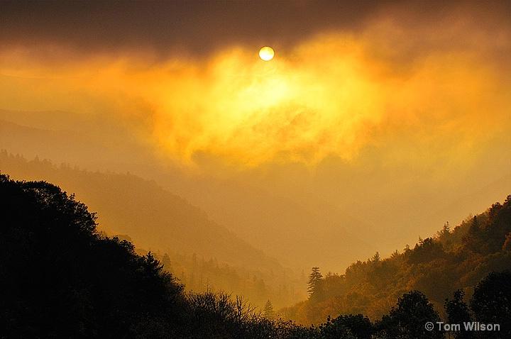 Smoky Sunrise II