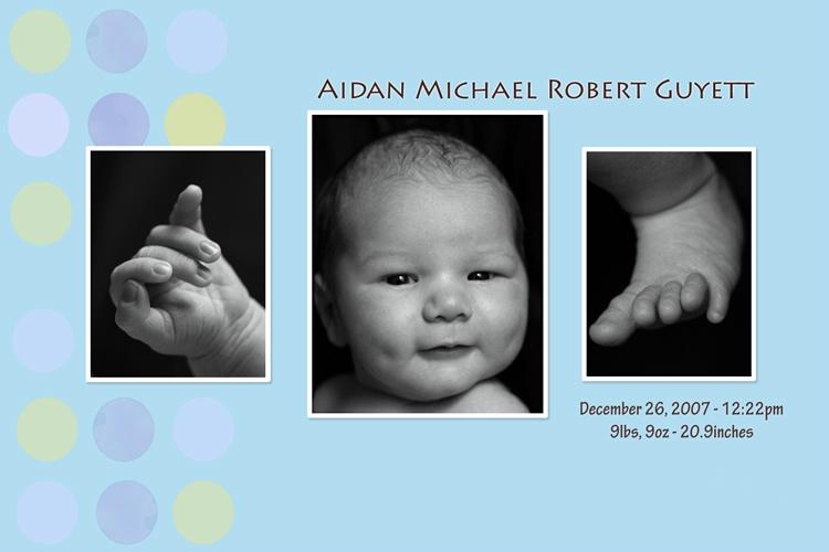 Aidan Announcement