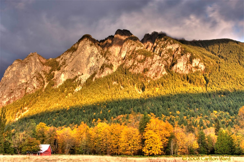 Mt. Si at Sunset