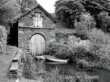 Boat House Grasmere. Lake District UK