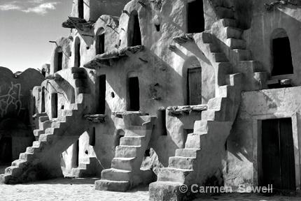 Ancient Berber Grainary, Tozeur Tunisia