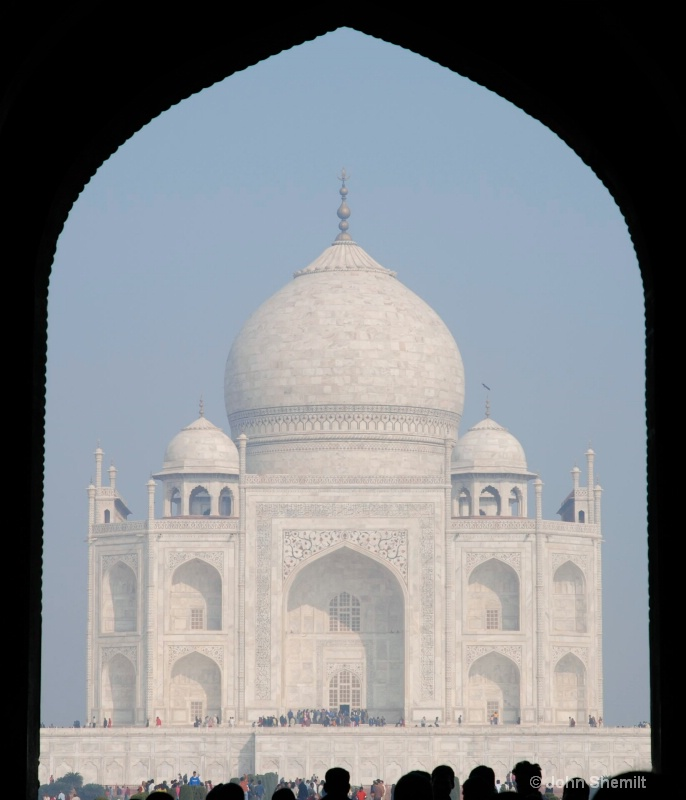 The Taj - truly one of the 7 wonders of the world