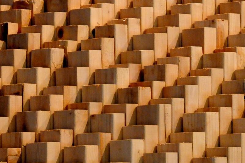 Rows of Maya Lin Landscape
