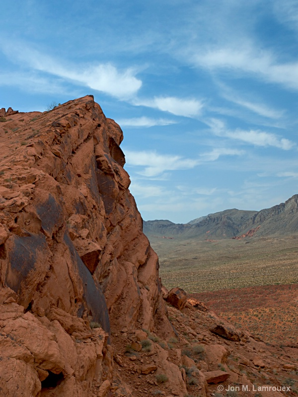 Valley of Fire in the Morning