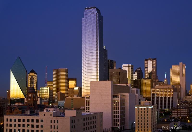 Dallas at Sunset