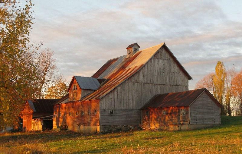 Homer A.Knight  Sr.Farm..North Hero VT