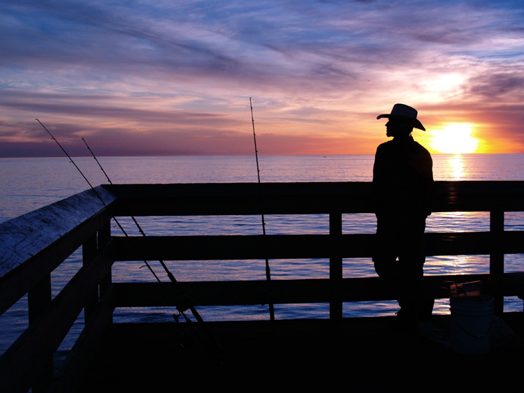 "Cowboy Fishing with ""cool"" temperatures"
