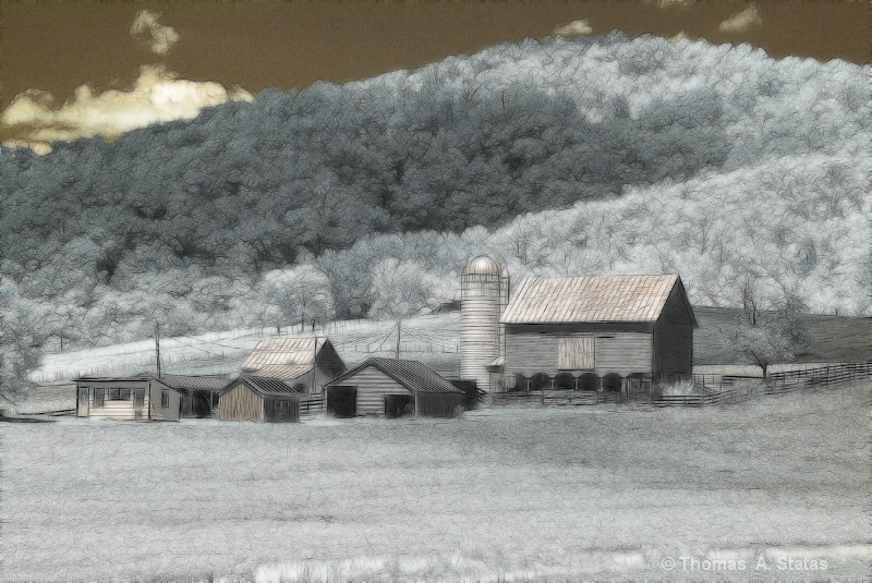 Farm Scene, Garrett County