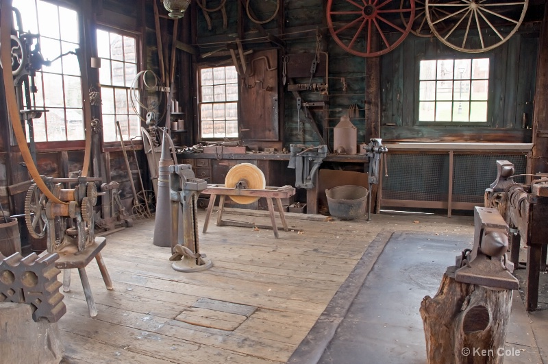 Old Victorian Workshop