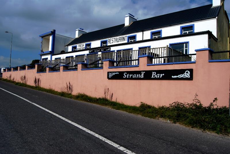 Restaurant at Inch Beach, Ireland