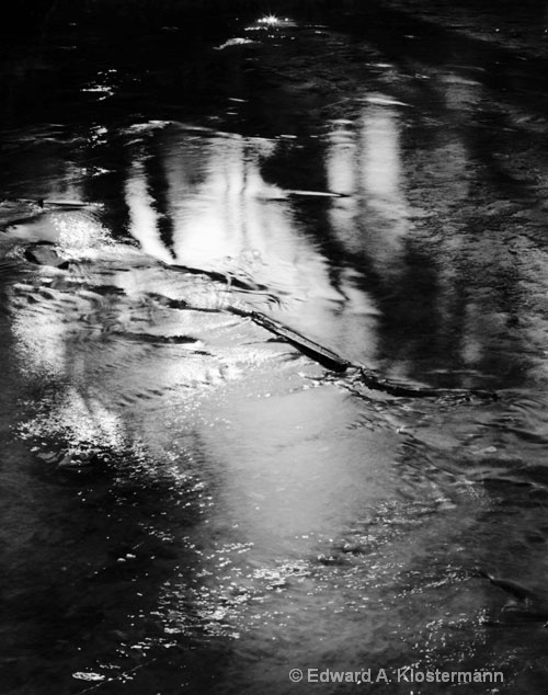 river reflection #4