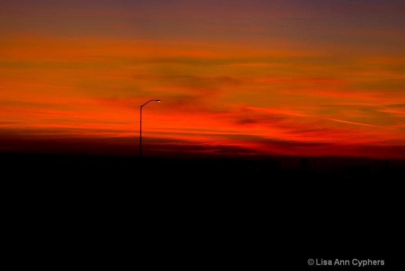 solitary Sunset