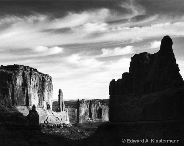 Arches NP at sunrise