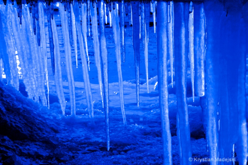 Icicles blue psp
