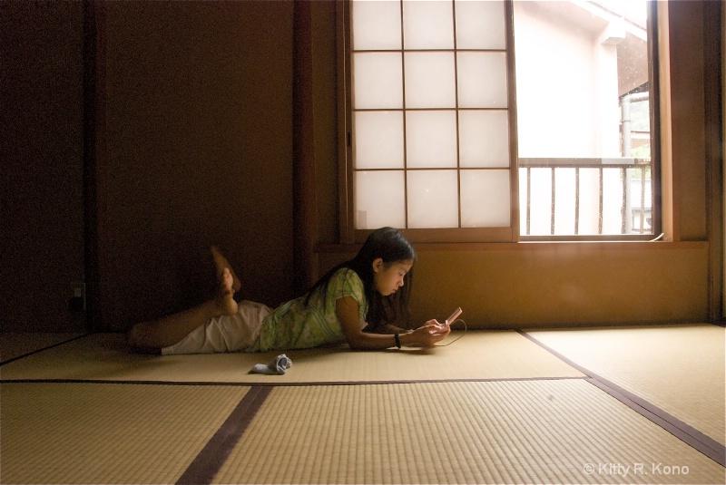 Yumiko on the Tatami Mat
