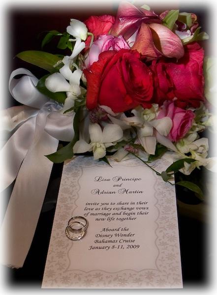 l a-invitation-framed