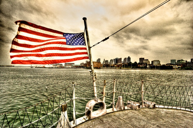 USS Cassin Young - Boston