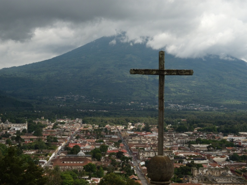 In the Shadow of the Volcano - Antigua Guatemala